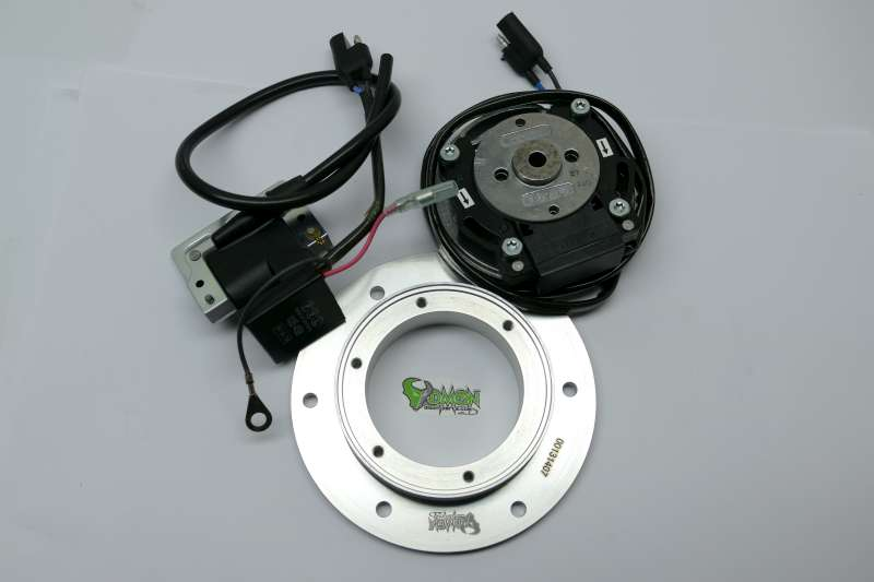 incl Adapterplate 1991-2004 PVL complete analog System for TM MX 80